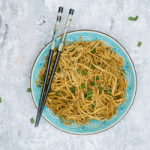 Garlic Soya Noodles Recipe