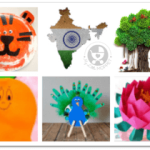 Indian National Symbol Crafts for Kids