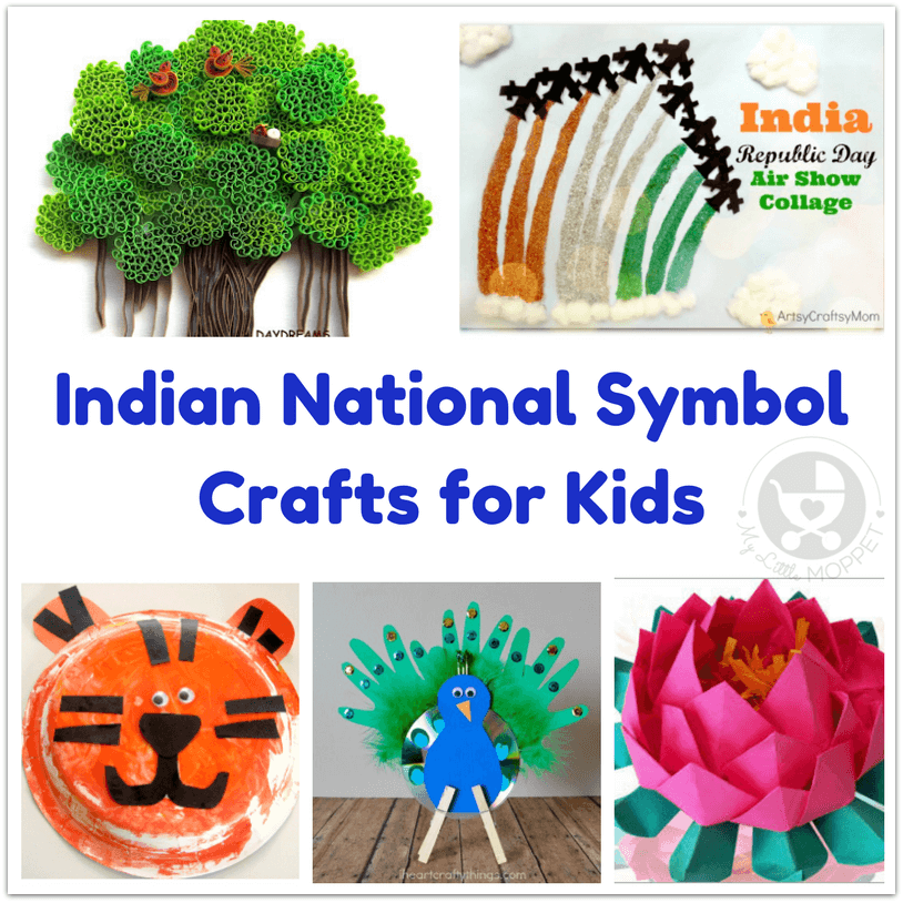 Indian Flag Craft For Preschoolers