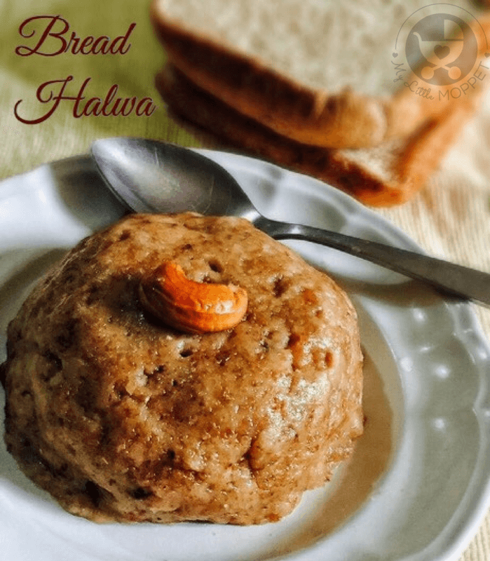 This bread halwa recipe is perfect for babies and toddlers and can be made with a few ingredients - including leftover bread slices!