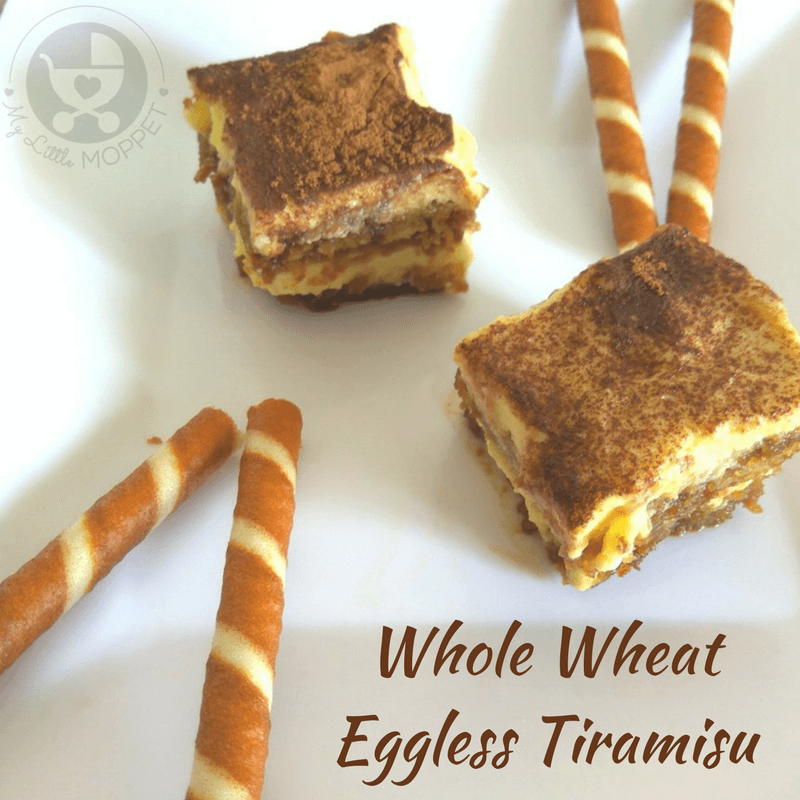 Tiramisu sounds like a fancy dessert, but its can be made from home too! Check out our recipe of Whole Wheat Eggless Tiramisu that's great for the whole family!