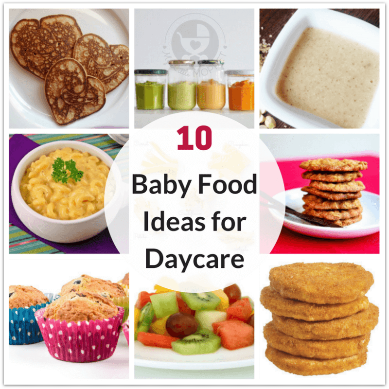 10 Healthy Baby Food Ideas for Daycare