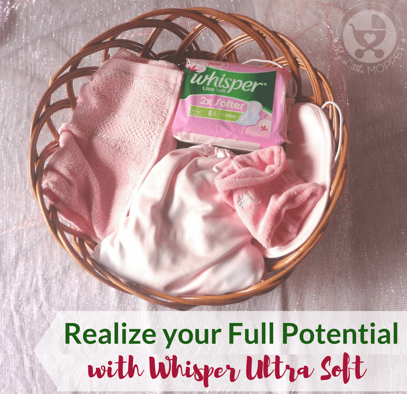 Your periods shouldn't stop you from realizing your full potential! Make the most of every day and reach for the stars confidently, with Whisper Ultra Soft.