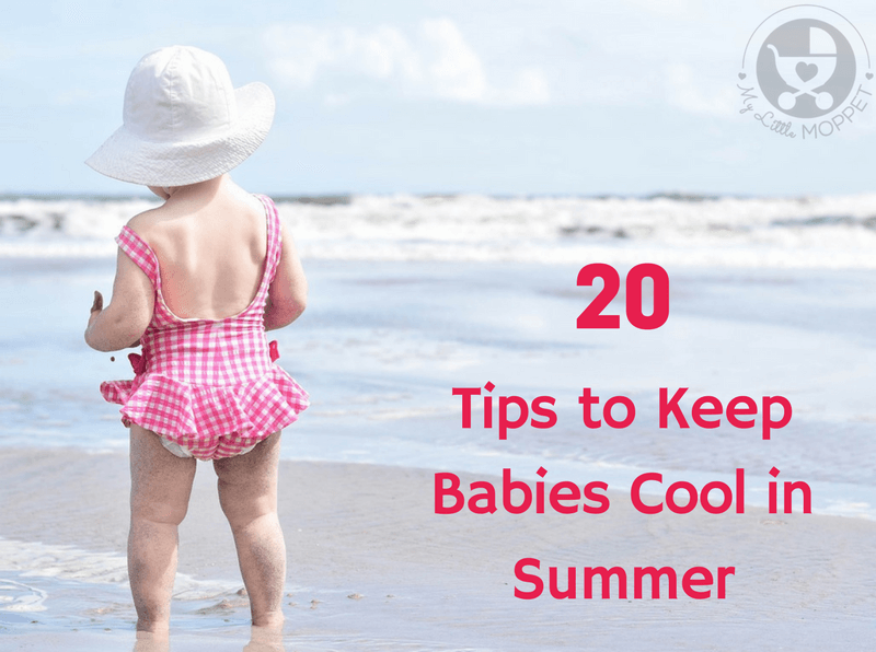 Don't let the weather get to your little one! With our Tips to Keep Babies Cool in Summer, your baby can stay cool and comfortable even on the hottest day!