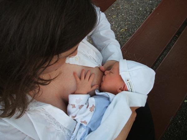 New Mom Seamless Nursing Bra