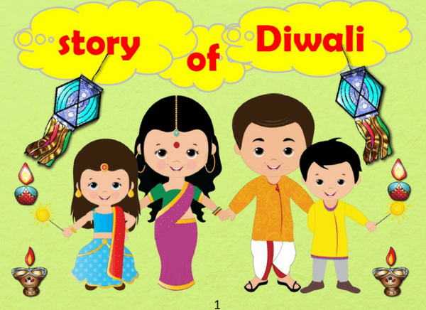 Check out this book on the Story of Diwali for kids to learn all about this festival - the different days, its significance and much more!