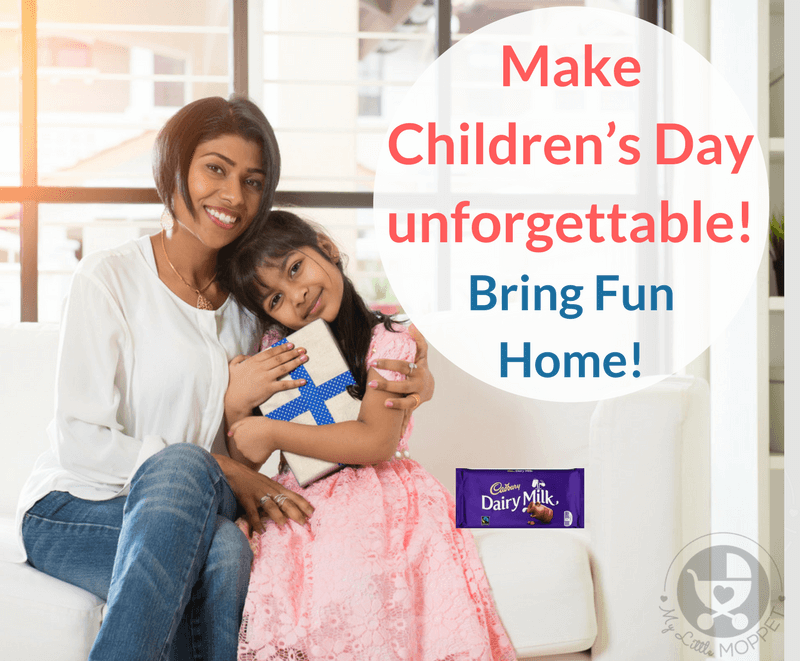Make Children's Day unforgettable for your child - Bring fun 'home' this year! Try out our unique suggestions that'll guarantee a day to remember!