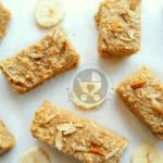 Healthy Breakfast Banana Bars
