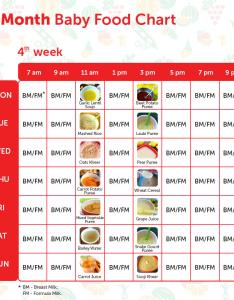 Week also months baby food chart with indian recipes rh mylittlemoppet