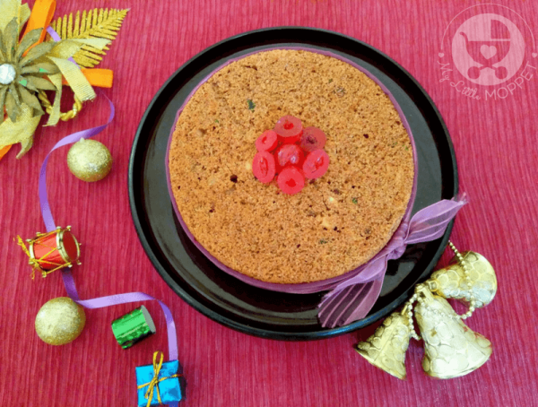 Fruit cakes are customary during Christmas and we've gone and given a healthy twist to the traditional version with our Ragi Plum Cake Recipe for Christmas!