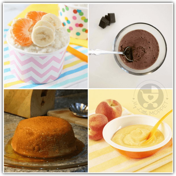 Dessert Recipes for Babies
