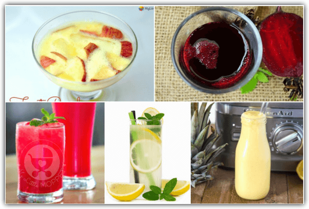 healthy summer drinks for babies and toddlers