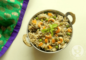 Kid Friendly Vegetable Biryani