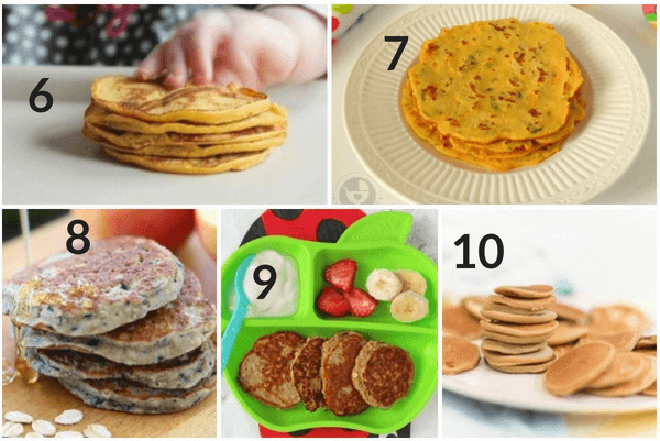 pancake recipes for babies and toddlers