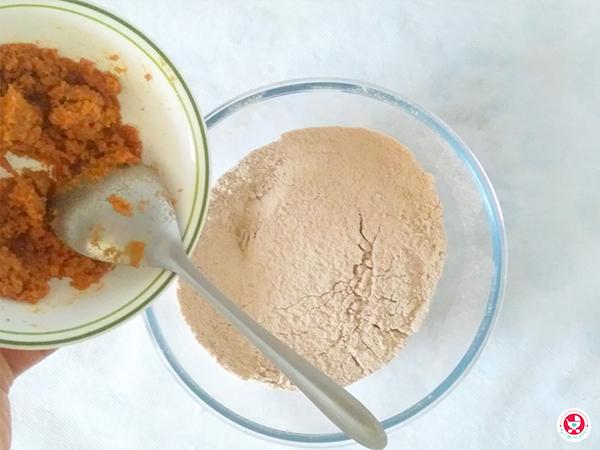 how to make Chocolate Nan khatai