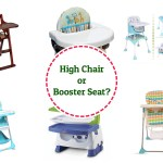 high chair or booster seat