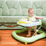 Are Baby Walkers Safe for your Baby? Find out about the pros & cons of baby walkers as well as alternatives to help your baby grow healthy, happy & active.