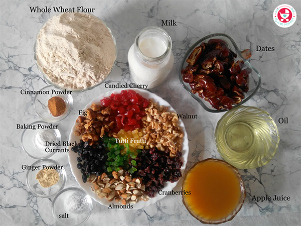 How to make Dates and Nuts Cooker Cake?