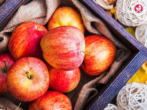 """Apples are among the healthiest fruits, so it's only natural that Moms want to feed it to their babies and they ask. """"Can I give my Baby Apple?"""""""