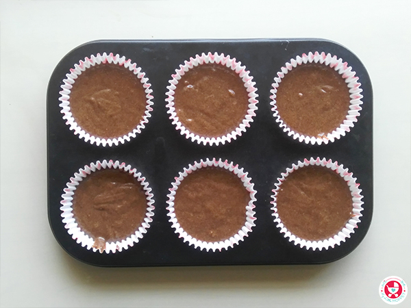 Sprouted Ragi Chocolate Muffins