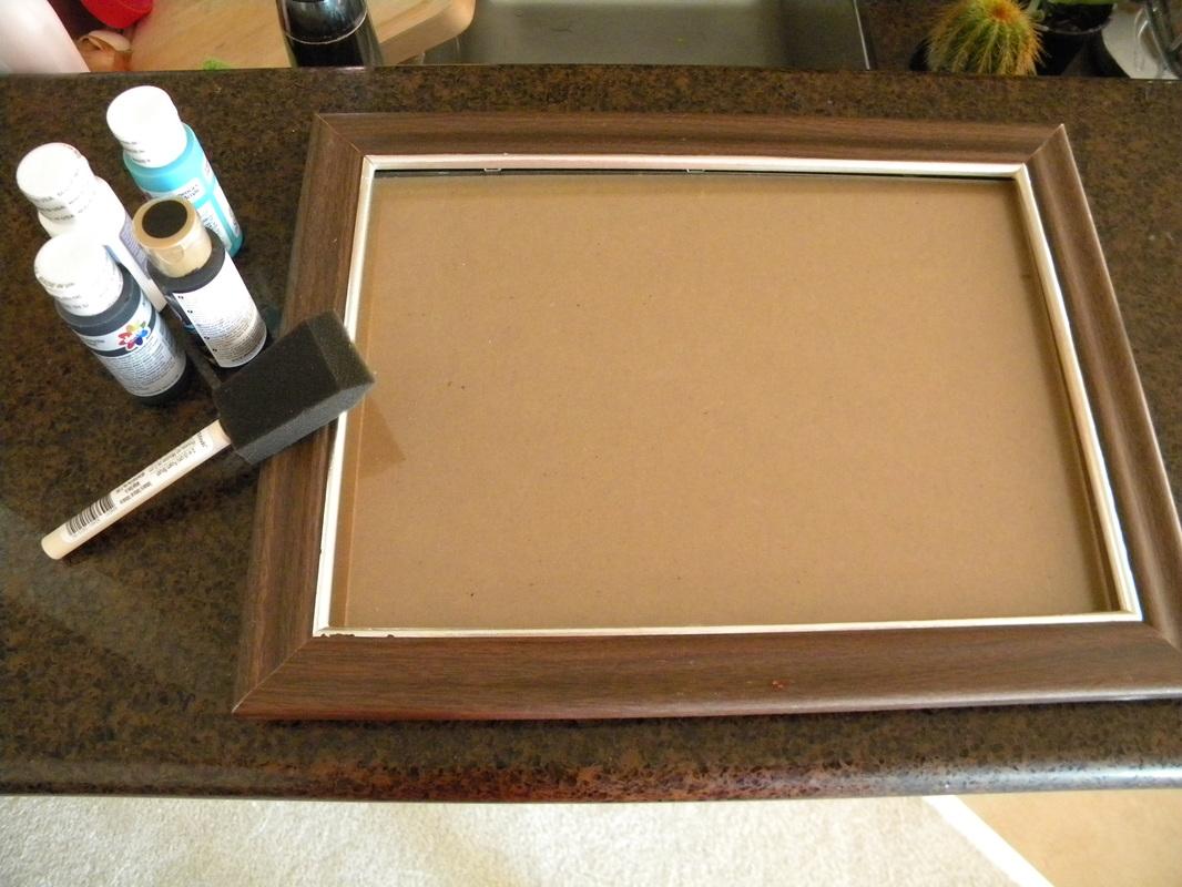 The Easiest DIY Chalkboard