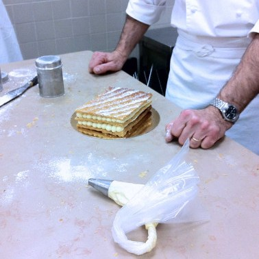 CAP pâtissier, le mille-feuille traditionnel