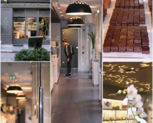La pâtisserie chocolatée de Nicolas Bacheyre Un Dimanche à Paris