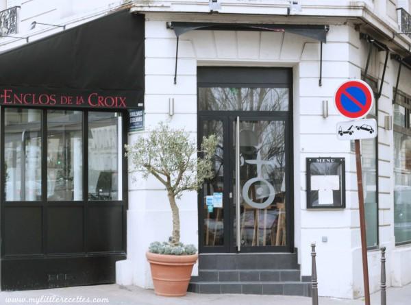 L'Enclos de la Croix, enfin une cuisine signature quartier Exelmans !
