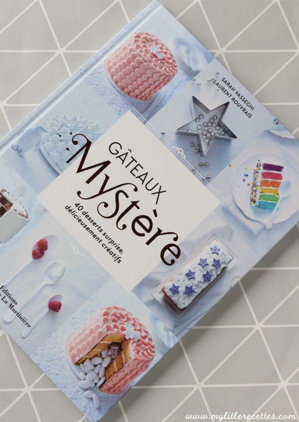 Livre - Gâteaux Mystère - Sarah Vasseghi