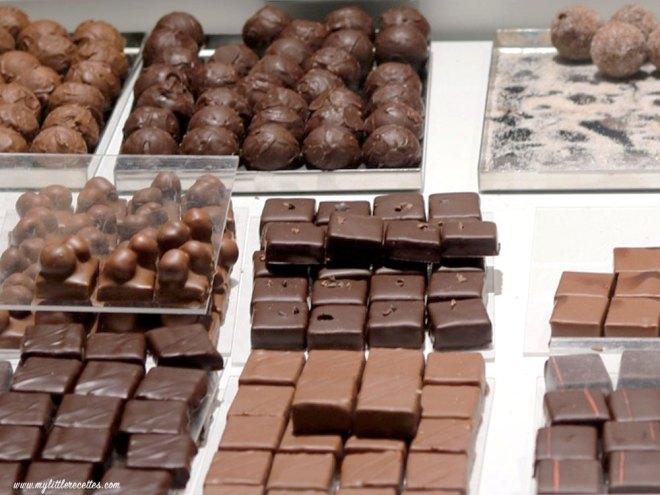 les bonbons de chocolat maison