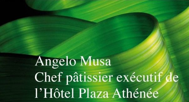 Livre, Ma Promesse - Angelo Musa, chef pâtissier exécutif du Plaza Athénée