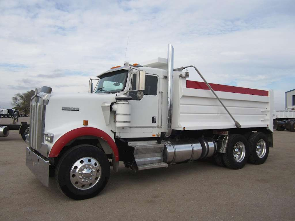 hight resolution of kenworth w900 dump truck for sale