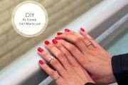 diy home gel manicure