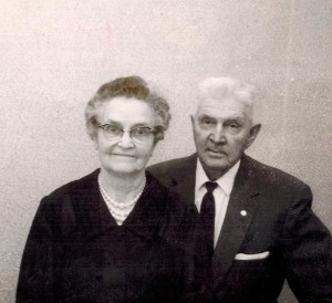 Grandma and Grandpa Keller
