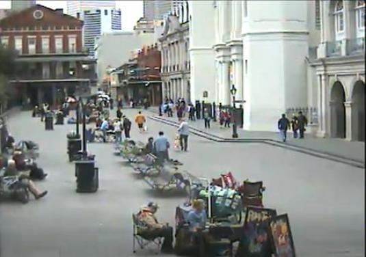 Live New Orleans Jackson Square People Watching Cam French Quarter New Orleans