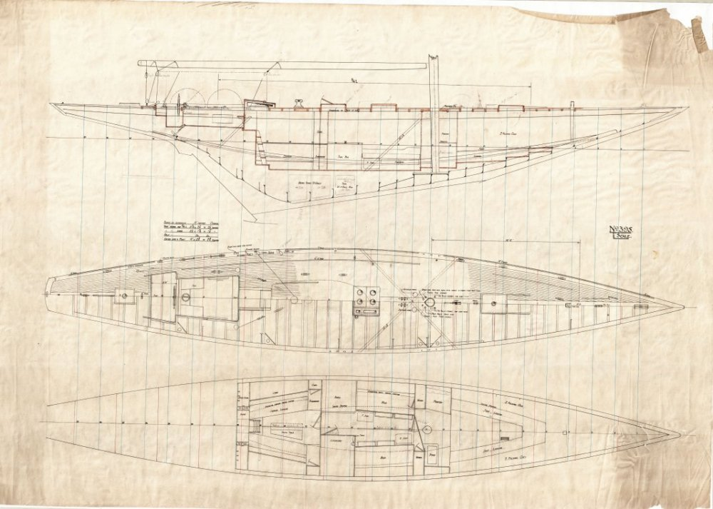 medium resolution of  jenetta original plans the worlds largest and fastest 3rd rule 12m racing yacht