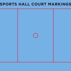 Netball Court Measurement Diagram 2008 Cobalt Stereo Wiring Sports Hall Markings Line Colour Guide Mylocalpitch Blog