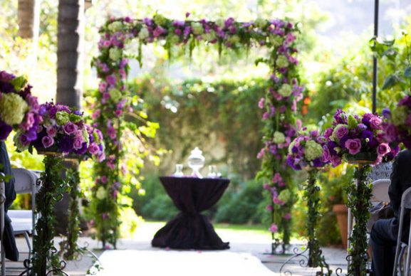 Purple  such a fabulous colour scheme for a Wedding  deep purple or plum works especially well