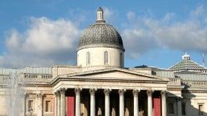 La National Gallery, una delle principali attrazioni di Londra