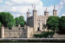La torre di Londra, una delle attrazioni più visitate di Londra