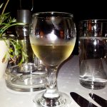 Glass of rakia