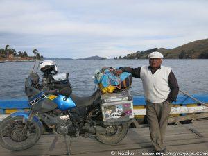 Crossing the Titicaca