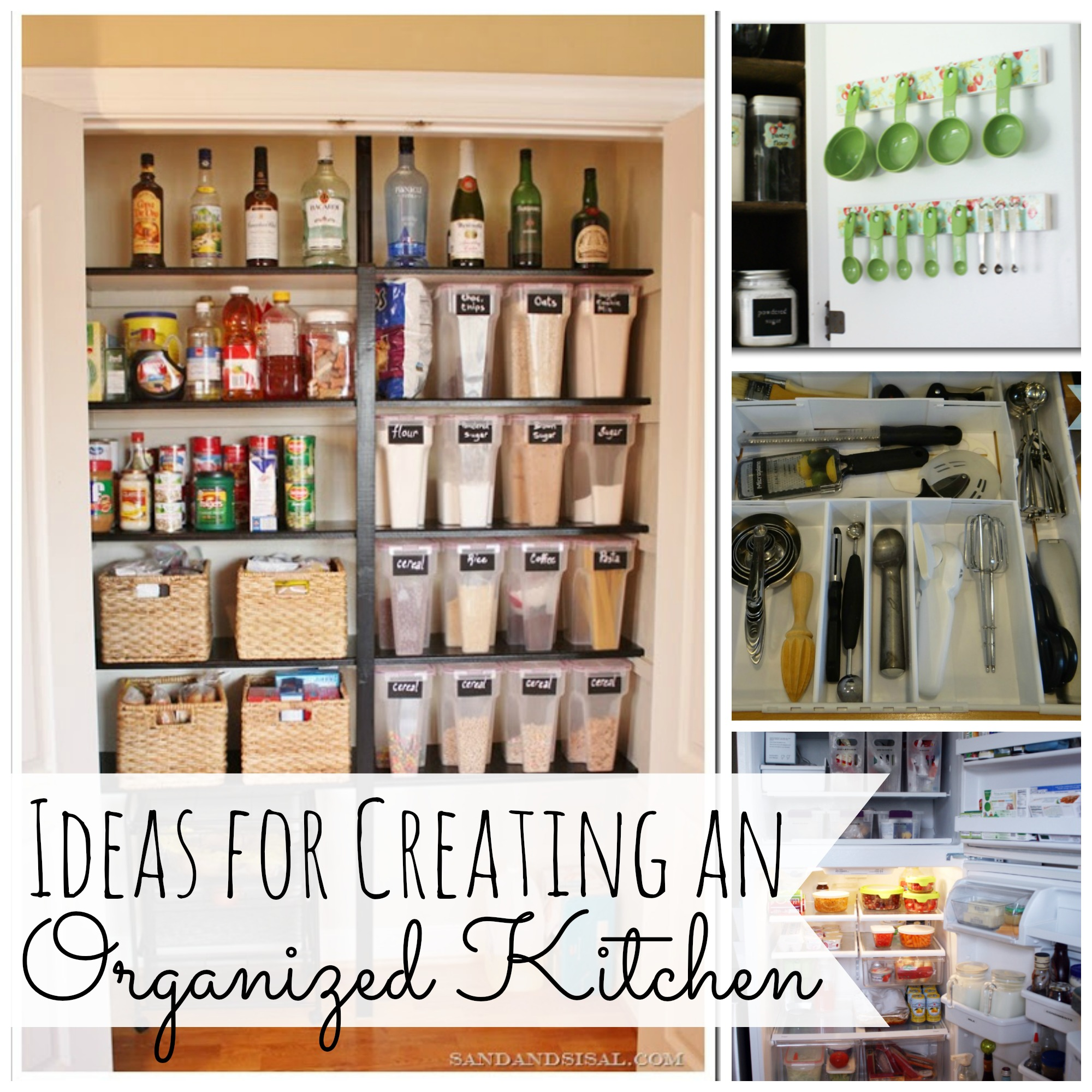 Ideas For Creating And Organized Kitchen