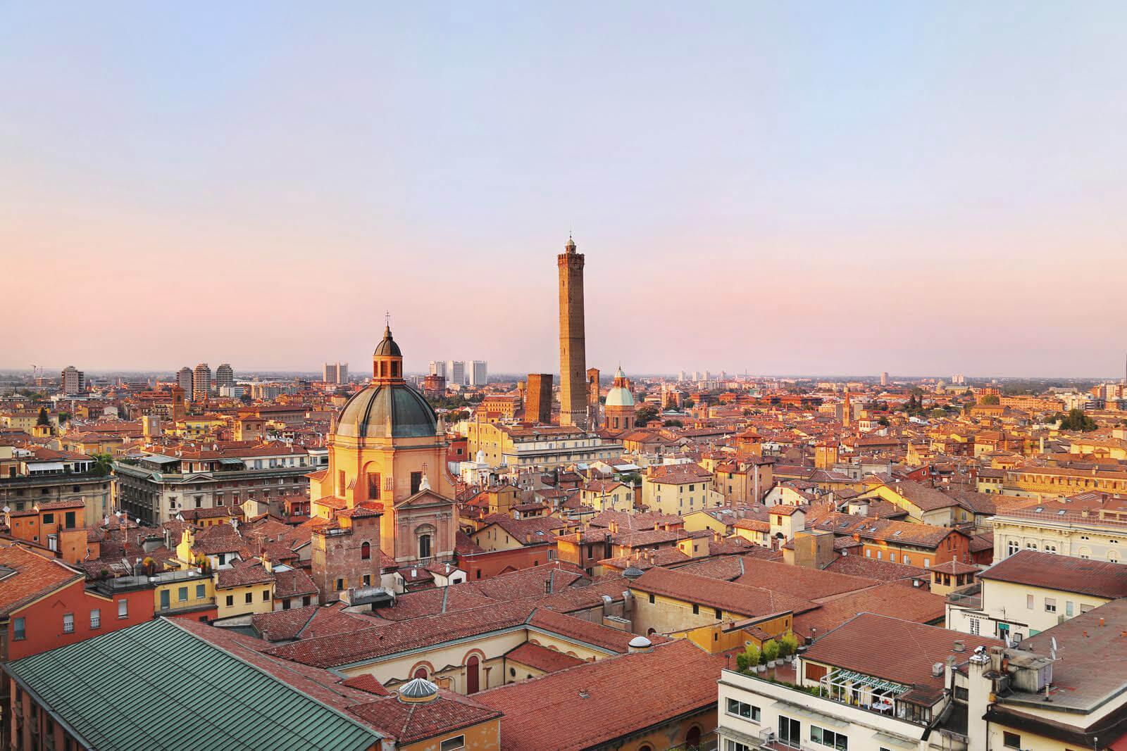 Un panorama speciale su Bologna la Terrazza di San