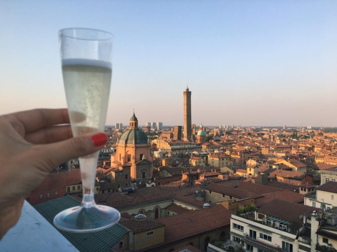 A special view over Bologna San Petronios terrace  My Lovely Bologna