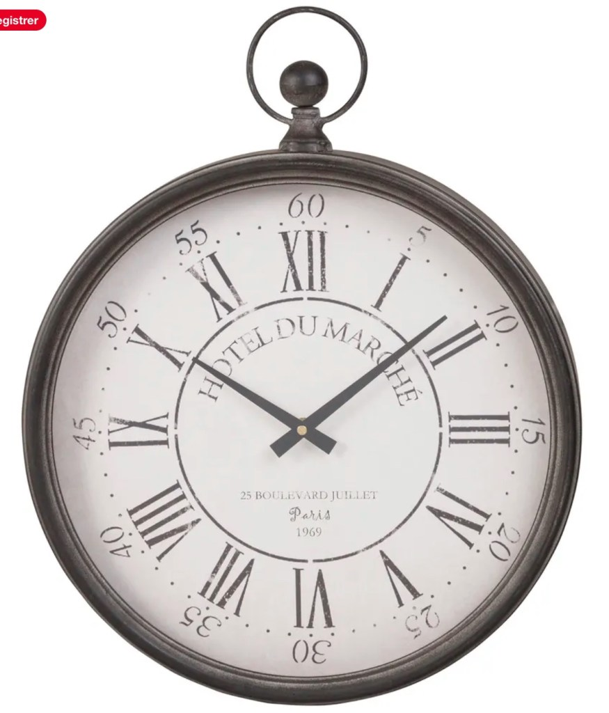 horloge à gousset
