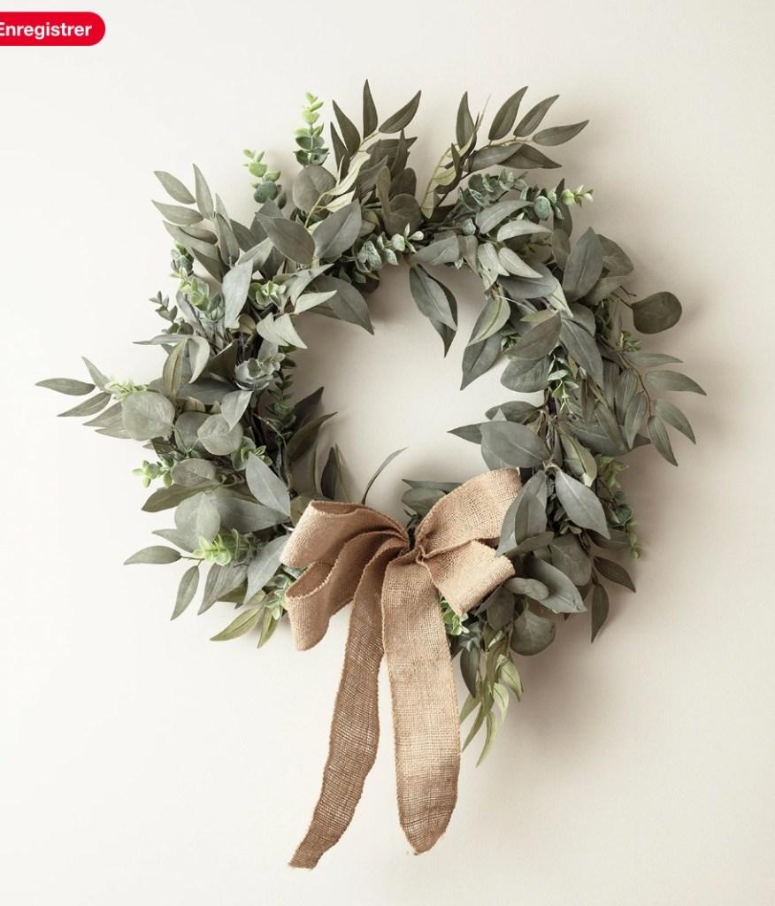 couronne eucalyptus et laurier