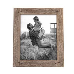 cadre photo en bois rustique