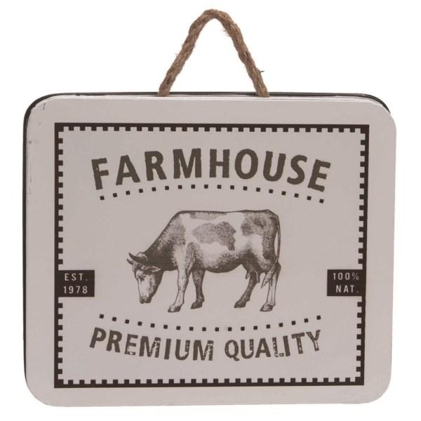 panneau métal farmhouse