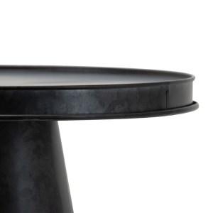 plateau métal galvanisé noir